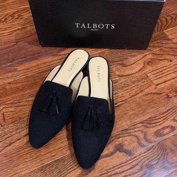 Talbots Shoes - NIB Talbots Edison Mule Black Brazil 9.5